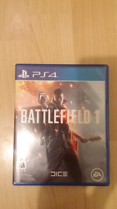 Battlefield 1 ps4 30$ comme neuf