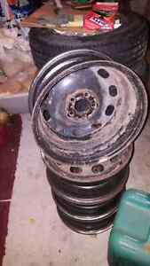 Steel rims for winter tires  London Ontario image 6
