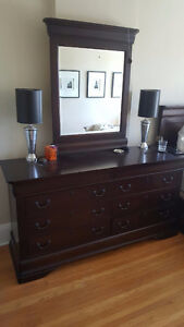Beautiful Dresser and two nightstands