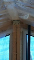 Insulating and vapour barrier