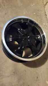 "18"" MPW Dual Bolt Pattern Alloy Rims  $350/set"