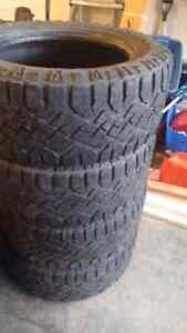 Goodyear Wrangler duratracs 305 55r20 all terrain tires