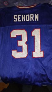 JASON SEHORN New York Giants Jersey! L (48) Used! EX COND! London Ontario image 2
