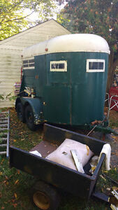 Horse trailer Belleville Belleville Area image 1