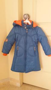 Manteau de printemps pour fille 2 ans