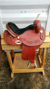 Good condition leather saddle