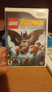 Lego Batman the video game for Nintendo Wii