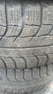 PAIR OF 205-60 R16 WINTER TIRES