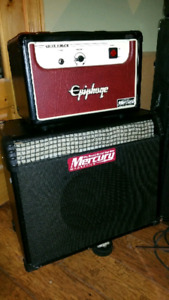 Epiphone valve jr amp head and 1 x 12 cabinet