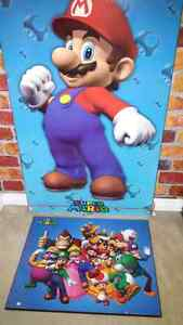 Super mario plaques and pictures Kitchener / Waterloo Kitchener Area image 1