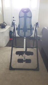 HAVE FOR SALE A INVERSION TABLE ASKING $250.00 WAS OVER $500.00