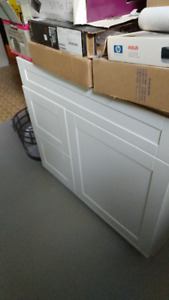 bathroom cabinets, brand new, never installed