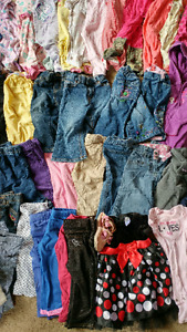 12-18 mth lot baby girl clothing