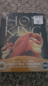 Rare OOP steelbooks new sealed Disney bluray