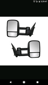 GMC or Chevy tow mirrors