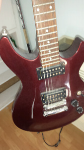 Electric guitar make an offer$100