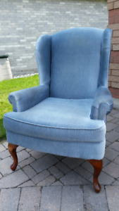 Lovely wing back chair