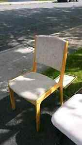 3 chairs for sale.  Solid wood.  $10-25 each St. John's Newfoundland image 2