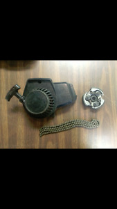 Pocket bike parts, pull cord assembly brand new clutch