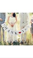 Thank You Banner $15.00