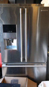 Electrolux icon fridge and microwave