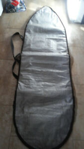 Surfboard bag, padded, extra wide ocean and earth, 7ft
