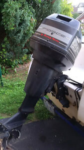 1994 Force 50 hp outboard - parting out Kitchener / Waterloo Kitchener Area image 1