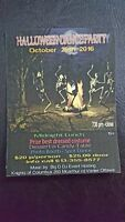 HALLOWEEN DANCE PARTY *** KNIGHTS OF COLUMBUS
