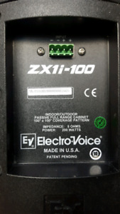 Electro-voice ZX1i-100 indoor/outdoor speaker