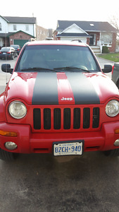 2002 Jeep Liberty 4x4 SUV, Crossover