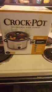 Crock pot; never been used