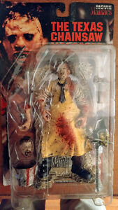 Leather Face Bloody Figure