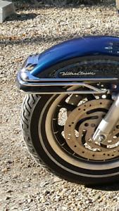 Harley Davidson Touring fender reflectors.