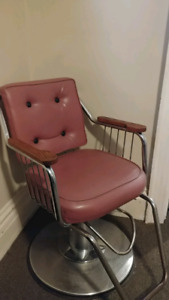 Retro Barber Chair $150 obo