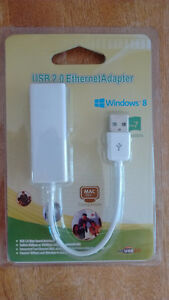 USB 2.0 Ethernet Adapter 10/100