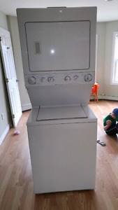 "27"" Frigidaire washer and dryer combo."