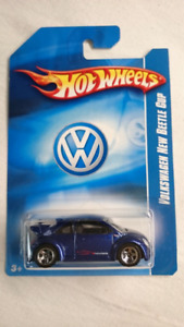 HOT WHEELS VOLKSWAGEN BEETLE CUP 2008 FIRST EDITION SPANISH CARD