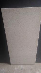 Quartz countertop piece