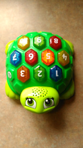 Leapfrog French counting  turtle