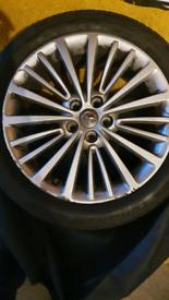 Vauxhall Astra Elite Nav 17 inch alloy