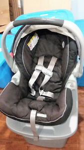 Infant car seat carrier