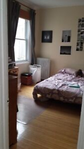 Furnished room for rent in spacious and very quiet 7-1/2 in NDG