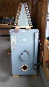 Oil Furnace with Air Conditioning Unit