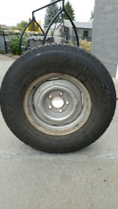 Chevy winter tires on rims