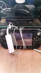 Used Wii u w/ 1 extra pink controller and 4 games - $300
