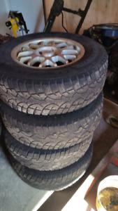 Tires off 2010 escape