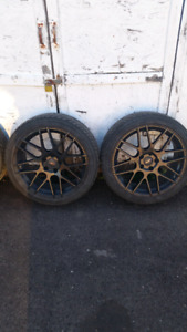 "Dodge dart 18"" rims"