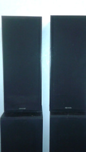 2 Sets of tower speakers