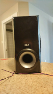 RCA Subwoofer