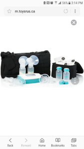New Evenflo electric double breast pump